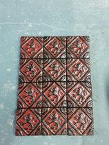 Lot de 12 carreaux des Flandres 9,5 cm ×9,5 cm réf AB31 possibilité l unité 18€