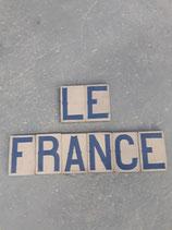 Lettre Anciens carreaux Metro Hauteur 14,5 cm Largeur 9,5 cm Épaisseur 1,7 cm