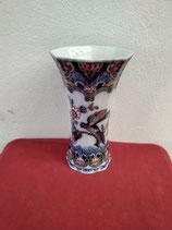 Magnifique Vase Faience de Delft estampillé Makkum numéroté  Hauteur 22cm Diamètre 13cm