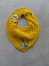 Sabberlatz gelb Anker