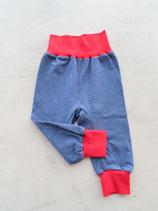 Pumphose Gr. 62 - Jeansblau