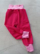 Pumphose Gr. 86 - pink / rosa