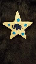 "Stern groß ""Elefant"" blau"