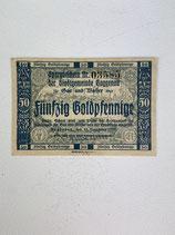 ALLEMAGNE 50 GOLDPFENNIGE 1923