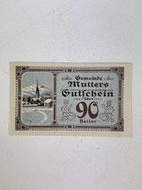 AUTRICHE 90 HELLER MUTTERS 1920