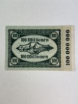 ALLEMAGNE 100 000 000 MARK 1923