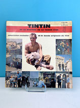 TINTIN DISQUE FILM LE MYSTERE DE LA TOISON D'OR
