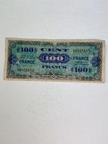 FRANCE 100 FRANCS 1944