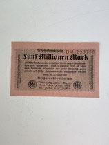 ALLEMAGNE 5 000 000 MARK 1923