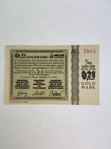ALLEMAGNE 0.21 GOLDMARK 1923