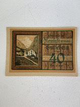 AUTRICHE 40 HELLER NEUFTIFT 1920