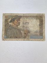 FRANCE 10 FRANCS LE MINEUR 1942