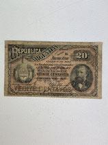 REPUBLIQUE D'ARGENTINE 20 CENTAVOS 1888