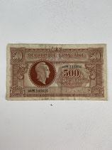 FRANCE 500 FRANCS MARIANNE