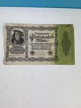 ALLEMAGNE 50000 MARK 1922