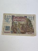 FRANCE 50 FRANCS LE VERRIER