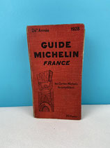 GUIDE MICHELIN 1928 EDITION ORIGINALE
