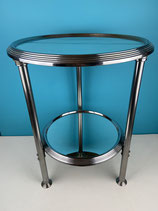 TABLE BASSE A 3 PIEDS MIROIRS
