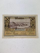 AUTRICHE 50 HELLER GUTFCHEINS 1920