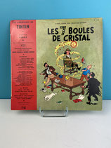 TINTIN DISQUE LES 7 BOULES DE CRISTAL