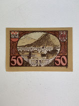 AUTRICHE 50 HELLER WORGI IM TYROL 1920