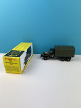 DINKY TOYS CAMION G M C MILITAIRE BACHE