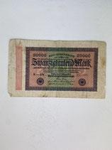 ALLEMAGNE 20000 MARK 1923