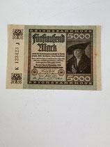 ALLEMAGNE 5000 MARK 1922