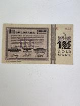 ALLEMAGNE 1.05 GOLDMARK 1923