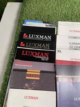29 Jahres- und Halbjahreskataloge von Luxman - 1980 - 2000 Vollständig