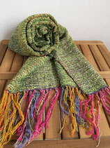 Scarf 003 - Green based colorful