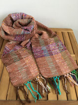 Scarf 008 - Brown red