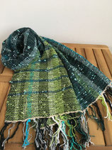 Scarf 007 - Chic Green Winter