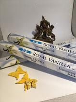 Räucherstäbchen Royal Vanille
