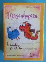 HERZENHOPSEN -  Wunderfünkchen für jeden Tag, von Martina Trimpin