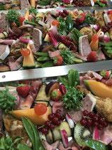 Koud buffet vis en vlees
