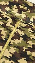 Sweatshirtstoff Camouflage