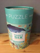 Puzzle Ocean Animals