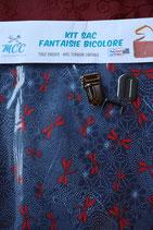 KSF libellule bleu/rouge