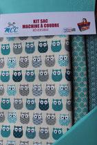 KSM mini hiboux turquoise