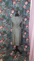 True Vintage Set Kleid und Jäckchen Seide