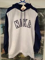 NIKE White/Navy Hoodie
