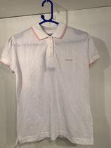 REEBOK Polo Shirt White/Baby Pink