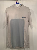 REEBOK Ice Grey Hooded T-Shirt