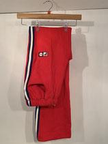 FILA Red Striped Sweatpants