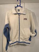 FILA Velour Jacket Off-White/Chambray