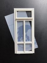 Balkon-Fenster eckig fünf Felder, Art. 800392