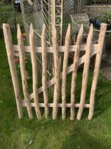 Gartentor Tor für Staketenzaun Zauntor inkl. Scharnieren Höhe 90cm / 120cm
