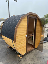 Mini-Sauna für 2 Personen mit Elektroofen Harvia