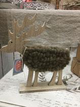 Elch mit Wolle